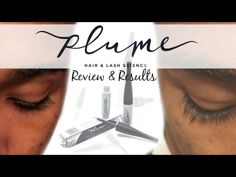 9031665452d Plume Review | Longer Eyelashes in 6 weeks!? - YouTube
