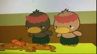 Ni Hao Kai-Lan She broke the Hula Ducks Pumpkin