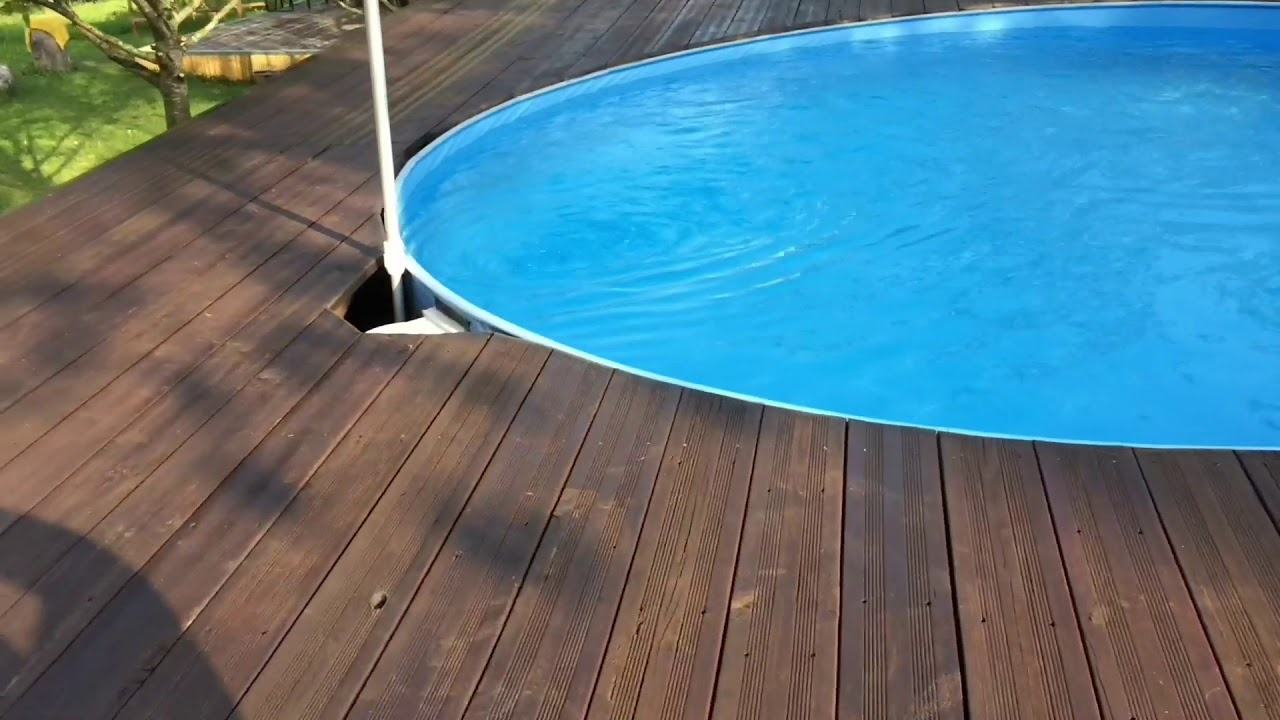 Pool Podest Selber Bauen Pool Podest Selbst Bauen Youtube