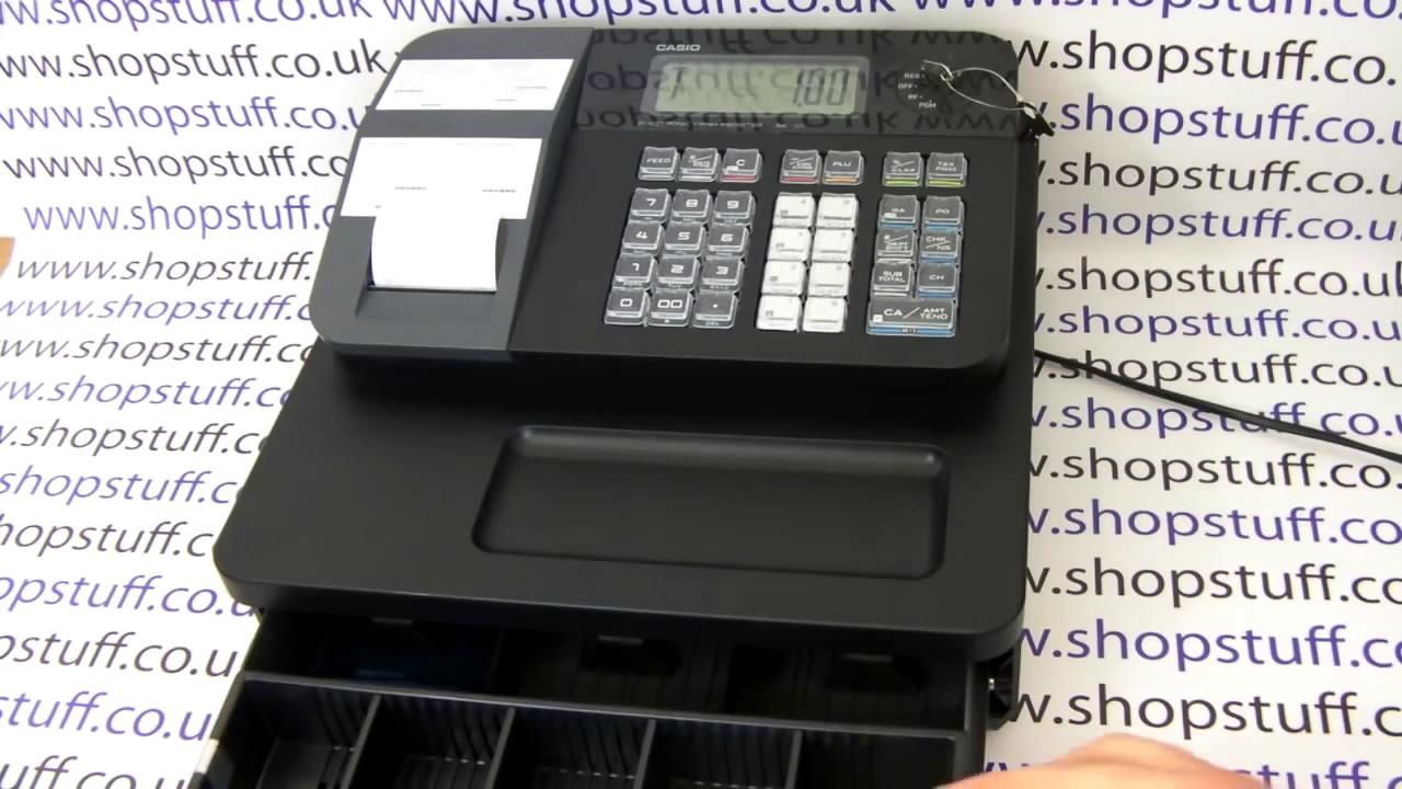 Casio Seg1 Casio Se G1 Cash Register Demonstration How To Use Guide