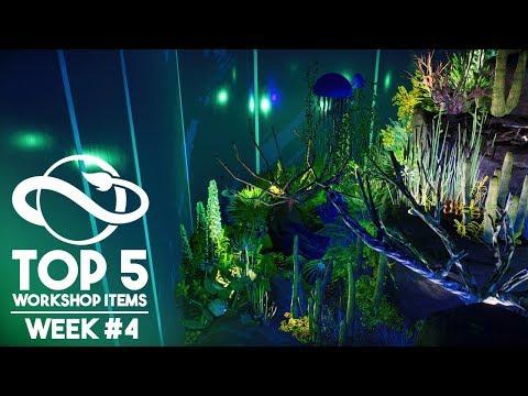 AMAZING Jellyfish Reef! | Planet Zoo Top 5 Workshop Items - Week #4