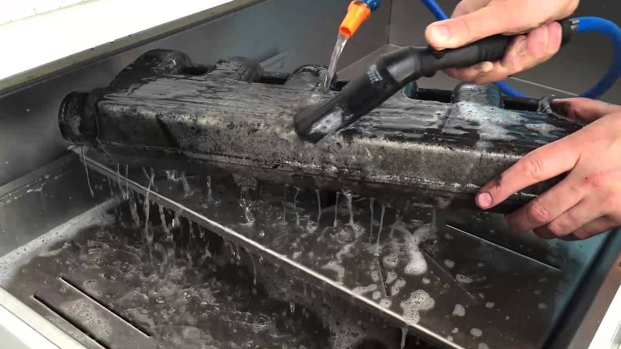Demo Clean - Highly Carbonised BMW Intake Manifold