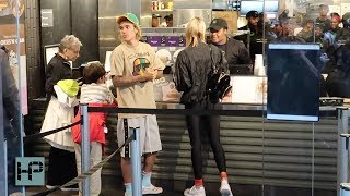 Video Justin Bieber and Hailey Baldwin Date Night - Shake Shack and a Movie download MP3, 3GP, MP4, WEBM, AVI, FLV Agustus 2018