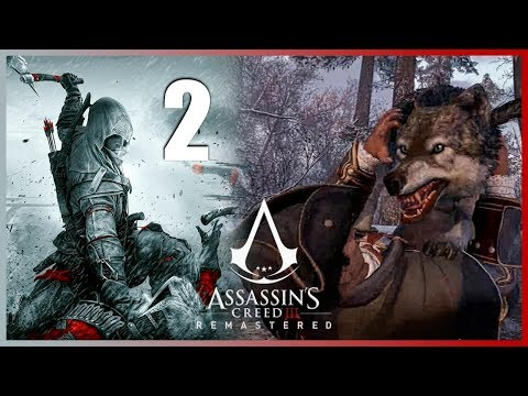 ASSASSINS CREED 3 REMASTERED Gameplay Walkthrough - Parte 2 Español