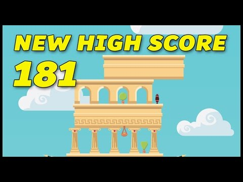 NEW HIGH SCORE 181 - The Tower by Ketchapp