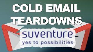 b2b strategic partnership cold email teardown suventure