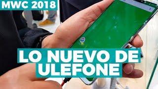 Teléfonos indestructibles de Ulefone - #MWC2018