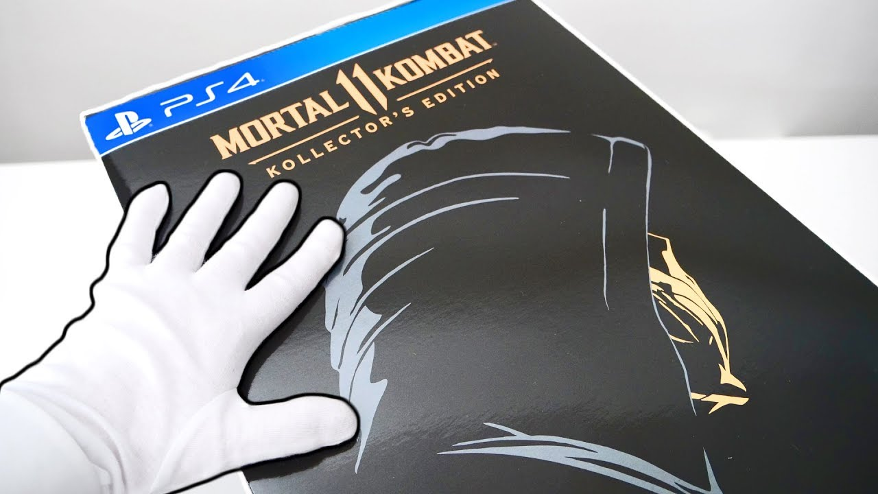 Download Unboxing Mortal Kombat 11 Kollector's Edition (Scorpion Mask) Premium Collector's Edition + Bonus
