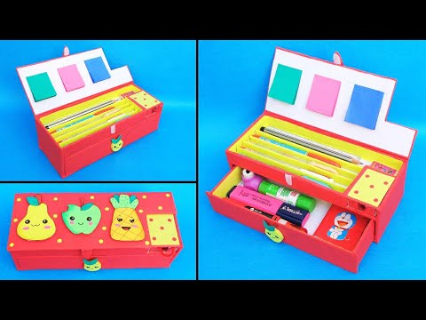 how-to-make-pencil-case-at-home-with-waste-cardboards/-best-out-of-waste/-diy-pencil-box