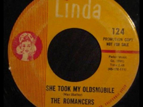 The Romancers - She Took My Oldsmobile (1966)