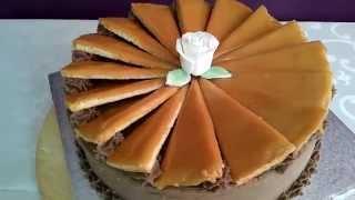Dobos Torta Eredeti Recept Alapján / Hungarian Dobos Cake (drum Cake)