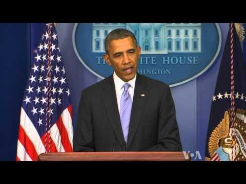 Obama Warns Against Russian Intervention in Ukraine