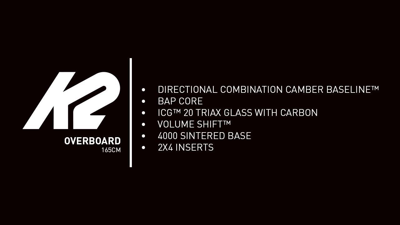 Overboard 2020 Review.K2 Overboard Snowboard 2020 K2 Snowboards