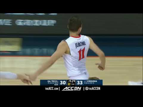 Georgia Tech vs Virginia Cavaliers College Basketball Condensed Game 2018