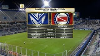 Velez Sarsfield vs Argentinos Juniors full match