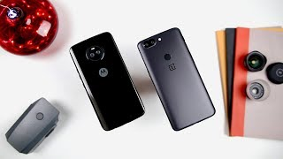 OnePlus 5T vs Moto X4 Which one to buy