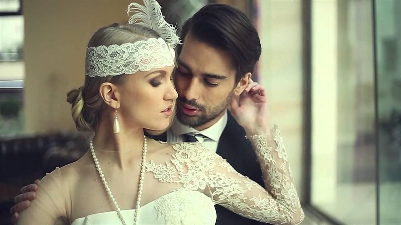 40a9ed299c 20as évek esküvői fotózás Gatsby hangulatban (Menyasszony stylist/Bridal  stylist) - YouTube