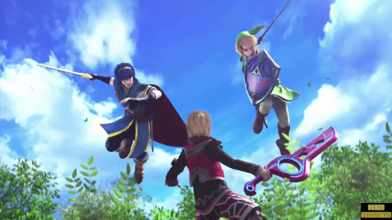 NEW CHARACTER SHULK NEW STAGE GAUR PLAIN SUPER SMASH BROS ...