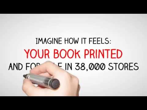 Imagine: your book printed and for sale in 38,000 stores