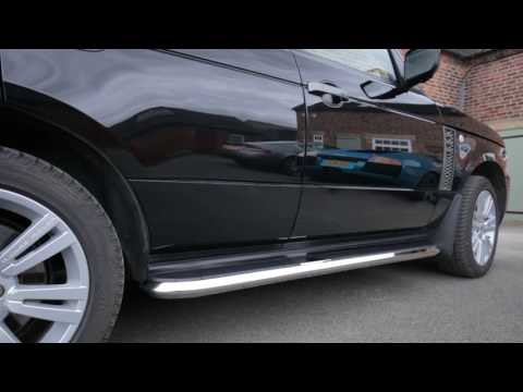 'High Flyer' Aftermarket Side Steps And Running Boards From Direct4x4