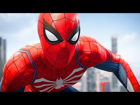 Marvel's Spiderman 4K Gameplay Walkthrough E3 2017 (PS4 2018)