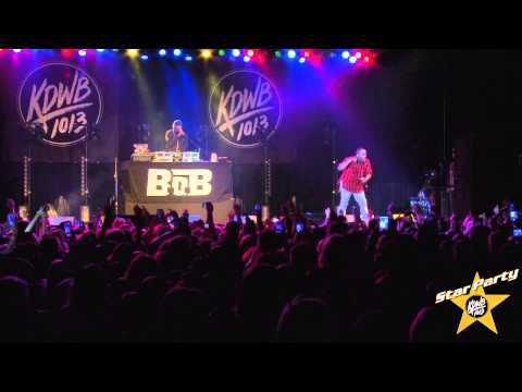 B.o.B Performs 'Magic' Live at KDWB's Star Party 2014