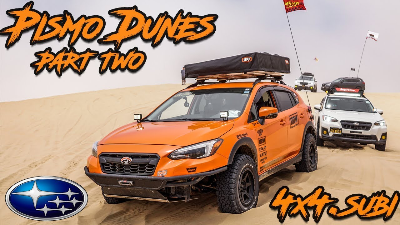Offroading Subarus in the Pismo Dunes (Part Two)