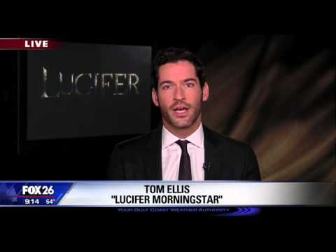 Actor Tom Ellis stars in FOX Television show 'Lucifer'