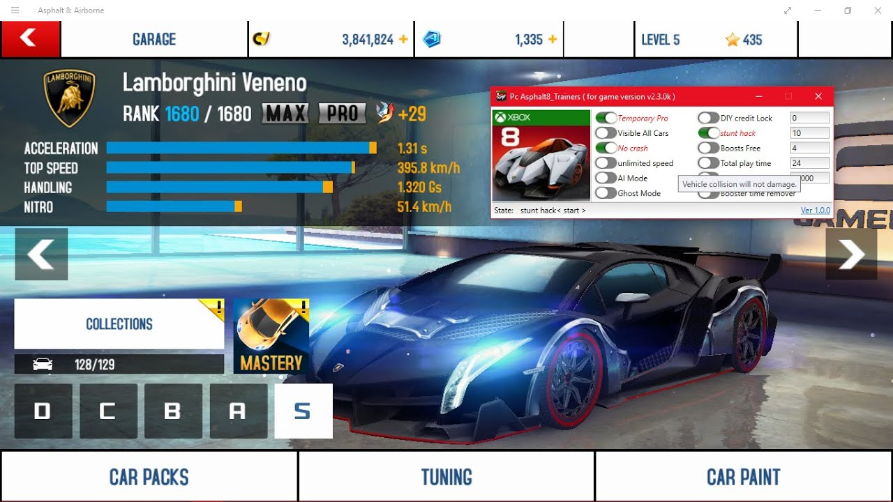 Asphalt 8: Airborne is a Flying & Racing game published by Gameloft SA. It has Windows Store Review of 4.6 stars out of 5 stars.