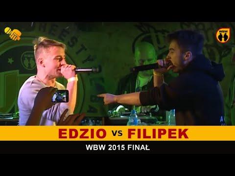 bitwa EDZIO vs FILIPEK # WBW 2015 Finał # freestyle battle