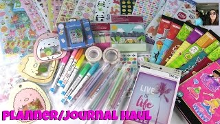 Journal Planner Haul Michaels Walmart Ebay & Amazon | PaulAndShannonsLife