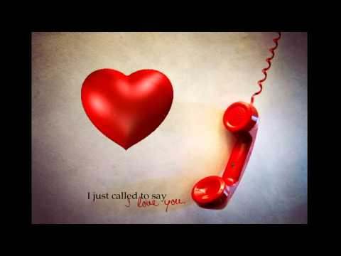 I Just Called To Say I Love YouStevie Wonder