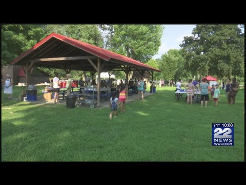 Annual Stand Together Against Racism barbecue held in Greenfield