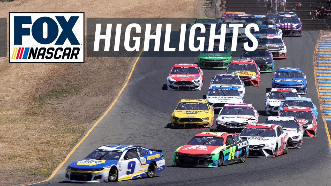 NASCAR: Kyle Larson wins in overtime at Sonoma Raceway