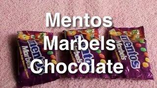 Mentos Marbels Chocolate