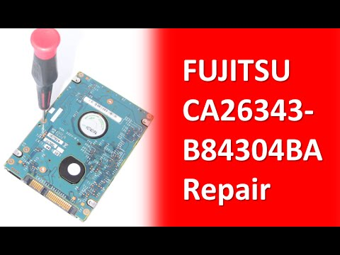 FUJITSU SATA 2 5in Hard Drive PCB Board  Repair And Disk Data Recovery