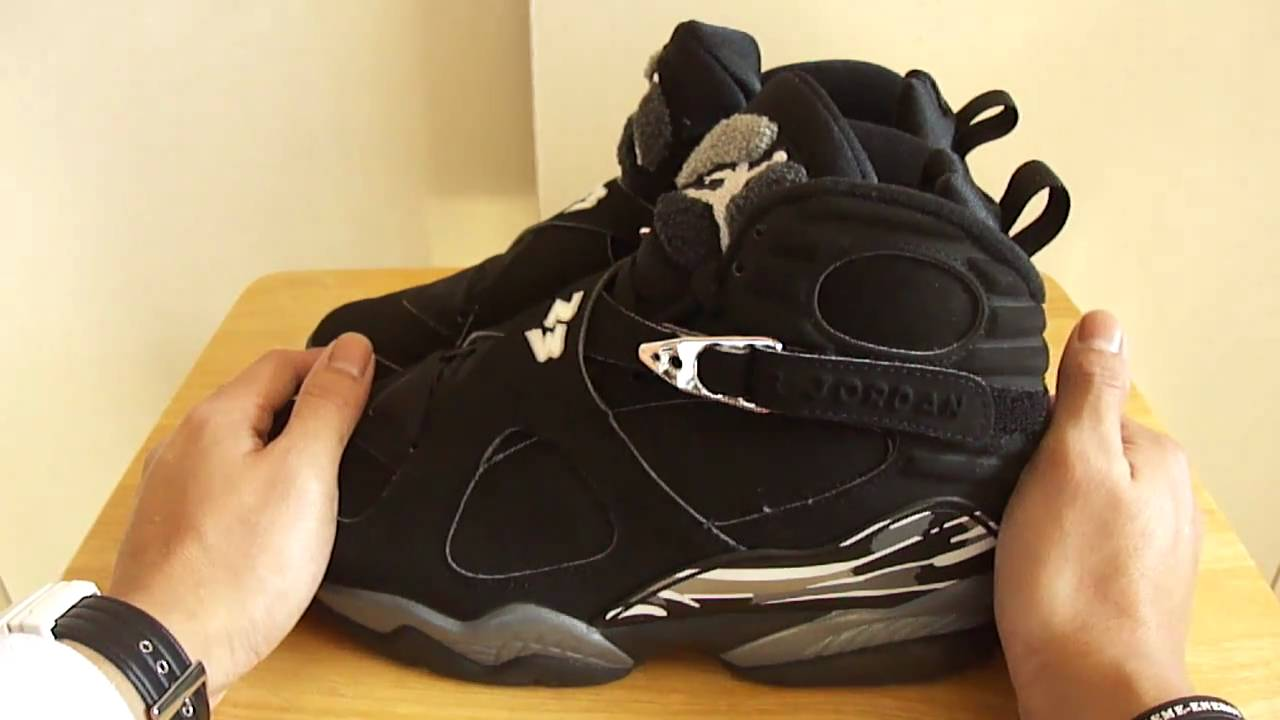 a557f6d1406a Air Jordan 8 Chrome 2003 - YouTube