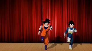 Goku and Vegeta Dance Performance