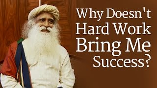 sadhguru talks about succecss