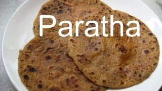 Indian Recipe - Stuffed Paratha Indian Recipe Of Sprouted Beans Paratha
