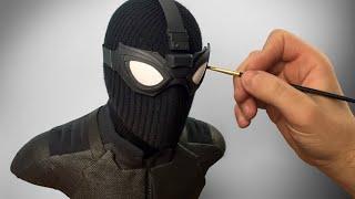 Stealth Spider-Man Sculpture Timelapse - Spider-Man: Far From Home