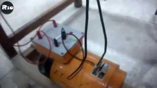 Machine à Courant Continu Montage (IEEA/FST)