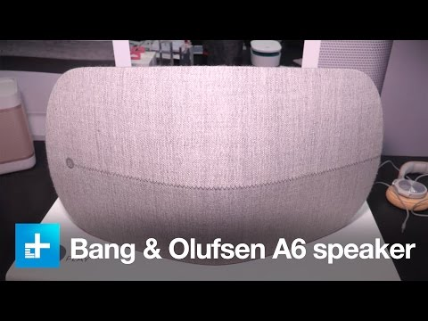 Bang & Olufsen A6 speaker - Hands on at IFA 2015