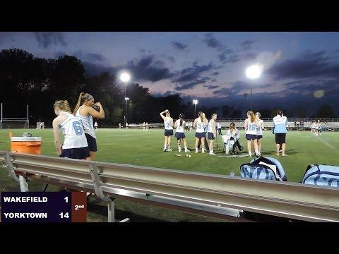 Girls Lacrosse: Wakefield at Yorktown, 2014