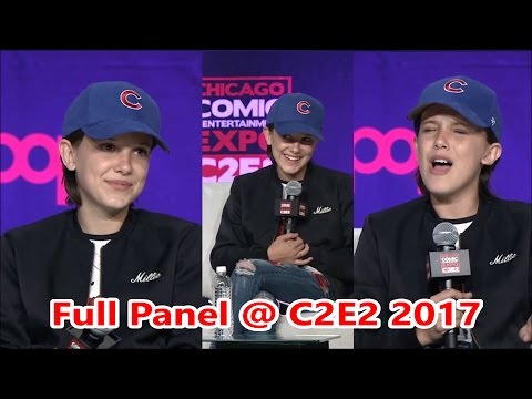 Millie Bobby Brown Panel @ Chicago Comic & Entertainment Expo 2017