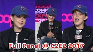 Millie Bobby Brown Panel @ Chicago Comic & Entertainment Expo …