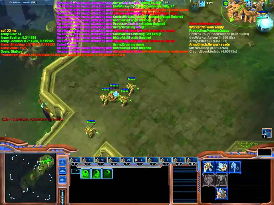 Matt's Webcorner - Starcraft 2 Automated Player