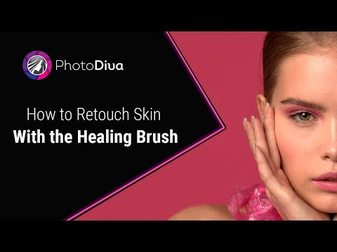 How To Retouch Skin In Photos Using The Healing Brush In PhotoDiva