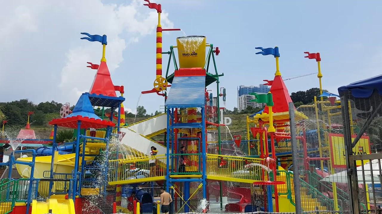 Malaysia legoland water theme park - YouTube