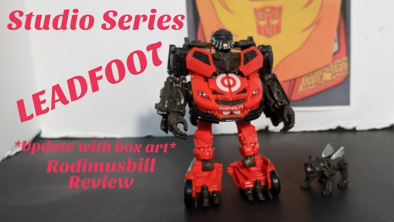 Studio Series 68 Leadfoot Target Exclusive Review my Rodimusbill
